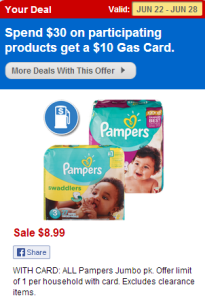 Pampers CVS Deal