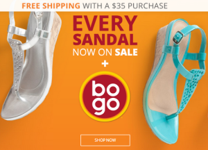 Payless BOGO 50% Off Sale | All Sandals on Sale + Free Shipping on $35!