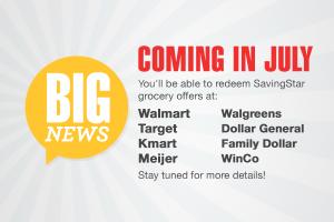 SavingStar at Additional Stores