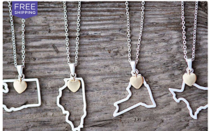 State Love Necklaces Just $12!