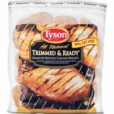 Tyson Trimmed and Ready Target Starting 6/22: Tyson Trimmed & Ready Frozen Chicken 2.25 lbs for $5