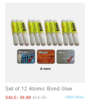 Atomic Bond Glue