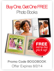 LAST CHANCE: BOGO Free Photo Books From CVS This Week!