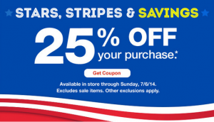 CVS 25 Off 300x172 Check Your Email for a Possible 25% Off CVS Coupon!