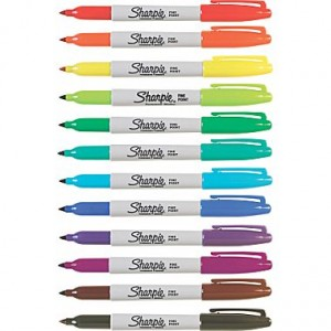 CHEAP Sharpies at Staples | $1.50/dozen!