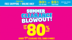 Childrens Place FREE Ship 300x166 *EXTENDED* $1.49 Tops + FREE Shipping at The Childrens Place !