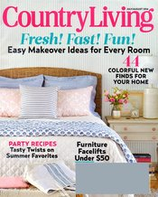 Country Living Magazine Subscription Just $5.99 Today ONLY!