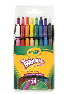 Crayola Mini Twistables Crayola Mini Twistables Crayons Just $2.50 | Save Over $4!