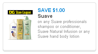 DG Suave Coupon