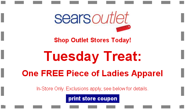 FREE Ladies Apparel Coupon