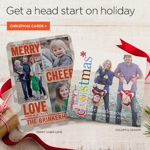 ALL Shutterfly Customers Get 5 FREE Flat or Folded Cards + 40% Off Everything!