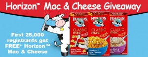 Free Horizon Mac and Cheese