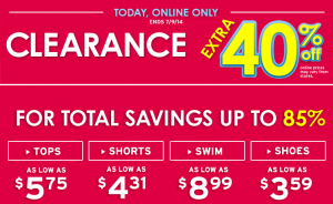 Justice 40 Off Clearance