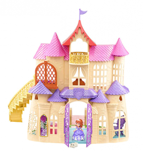 Sophia the First Castle 284x300 Disney Sofia the First Magical Talking Castle Play Set Just $29 | Over 50% Off!
