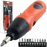 Stalwart Cordless Screwdriver With 11 Bits Just $8.13 + FREE Pickup!