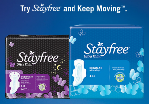 Stayfree gift card offer 300x209 FREE $5 Walmart Gift Card wyb 3 Carefree, Stayfree, or o.b. Products!