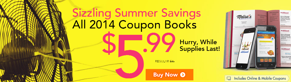 Summer Savings Book