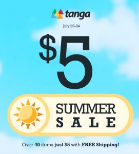 Tanga 5 Dollar Summer Sale