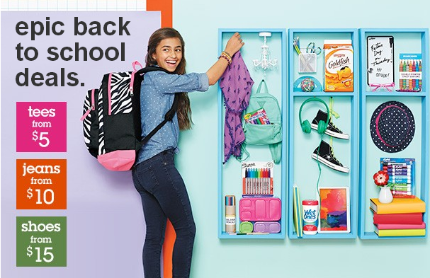 Target Back To School Kids Clothes