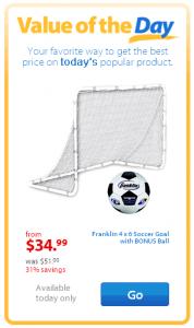 Walmart Soccer Goal