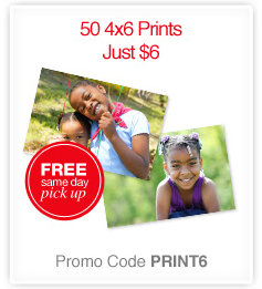 50 4×6 Prints Just $6 + FREE Pickup at CVS! ($.12 per Print)