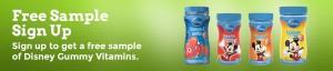 disney gummies 300x64 FREE Sample of Disney Gummy Vitamins!