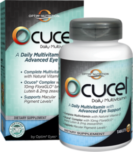 ocucel free sample 261x300 FREE 1 week Supply of Ocucel Daily Eye Multivitamin!
