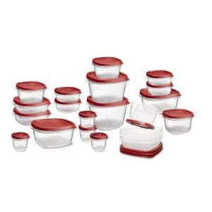 40 piece rubbermaid set