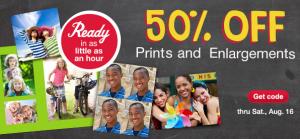 50 Off Walgreens Prints