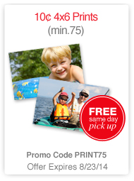CVS Photo Prints Just 10¢ Each + FREE Store Pickup!