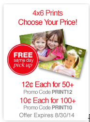CVS Prints as Low as 10¢ Each!
