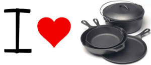 Cast Iron Pans 300x130 Save Some Cash With Cast Iron Pans!