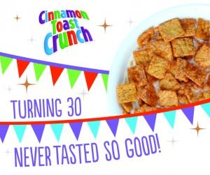 Cinnamon Toast Crunch Sample