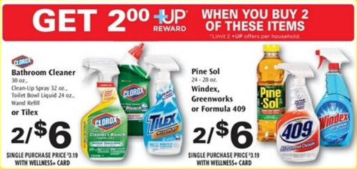 Household Cleaners as Low as $1.25 After Coupons and +UP!