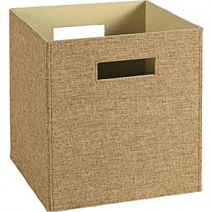 ClosetMaid Elite Fabric Bins and Trays Just $4 Each!