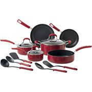 Cooks 14-pc. Porcelain Enamel Nonstick Cookware Set