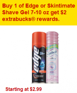 CHEAP Edge Shave Gel With CVS Percent Off Coupon!