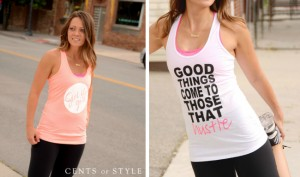 Fashion Friday: 50% Off Fun Workout Tanks and Hats!