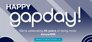 Gap Bday