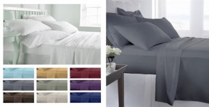 1800 Series Ultra-Fine Weave Microfiber Sheet Set Only $28.99 | Lots of Colors to Choose From!
