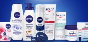 Nivea Aquaphor Eucerin Sample