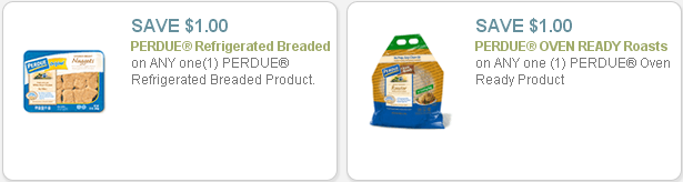 Perdue and Pepperidge Farm Swirl Bread coupons