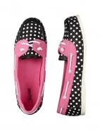 Polka Dot Boat Shoes