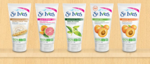 FREE St. Ives Travel Size Sample!