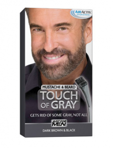 Touch of Gray Mustache and Beard Just $3.97 at Walmart!
