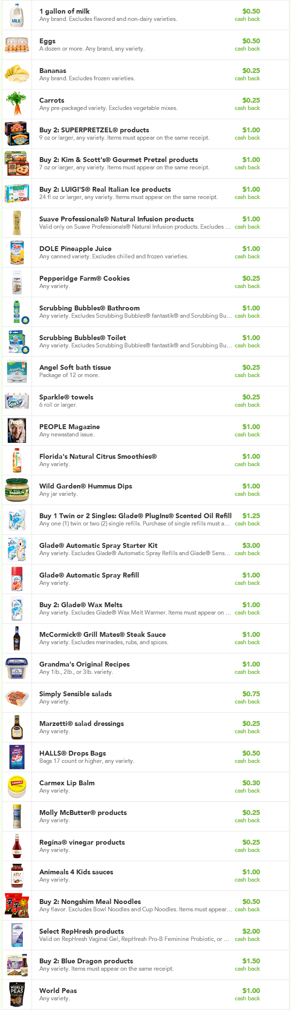 check51 aug 14 NEW Checkout 51 Offers: Carrots, Bananas, Suave, and More!