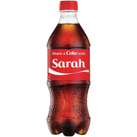 50% Off Share a Coke 20 oz Bottles at Target!
