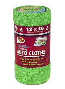 3-pack of Detailer's Choice Microfiber All purpose Auto Cloths Just $1.79!