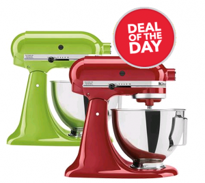 KitchenAid Tilt-Head Stand Mixers Only $209.99 Today Only!