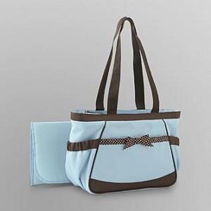 Blue Baby Essentials diaper bag